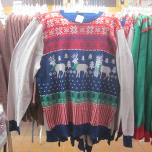 Men's Ugly Christmas Sweater NWT